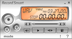 Record Smart simply records what you hear from your PC just by one click.